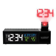 616-1950 La Crosse Technology Pop-Up Projection Alarm Clock with USB Refurbished
