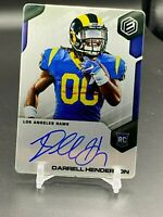 2019 Darrell Henderson Panini Elements Steel Rookie RC # /150 On Card Auto Rams