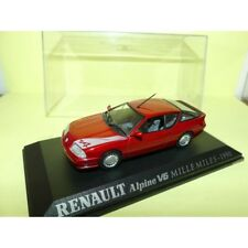 RENAULT ALPINE V6 MILLE MILES 1990 Rouge  UNIVERSAL HOBBIES Collection M6 1:43