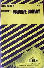 Cliff Notes Flaubert's Madame Bovary, CliffsNotes Paperback Book