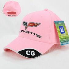 Chevrolet Chevy Corvette C6 Logo Basecap Mütze Trucker Baseball Cap Pink Rosa