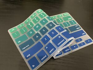 """Keyboard Cover Silicone Skin For MacBook Air 13"""" And MacBook Pro 13"""" 15"""" 17"""""""