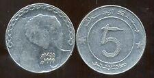 ALGERIE ALGERIA 5 dinars  1999    ANM