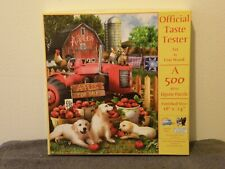 """Sunsout 500 Pc Puzzle """"Official Taste Tester"""" by Tom Wood"""