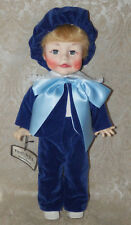 """Vintage 16"""" EFFANBEE Boy Vinyl Doll FAITH WICK Party Time Collectible # 2003"""