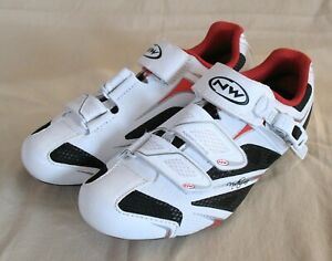 """NORTHWAVE """"Starlight SR5"""" Road Cycle Shoes (Red/Black/White UK 3.5)"""