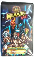 Mummies Alive the Legend Begins 1998 animated movie 60 min run time VHS Tape