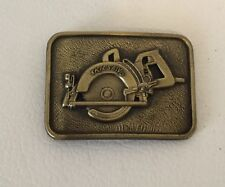 Skill Saw Metal Belt Buckle Promo Giveaway Home Depot Lowe's