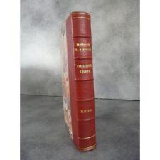 Houben Christophe Colomb 1447 1506 Payot 1535 bel exemplaire en reliure signée.