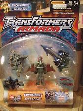 Hasbro Transformers Armada Micro Legend Gunbarrel Terradive Thunderwing Gundam