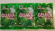 85ce3db0f 3 Bags of fresh Classic Series Chinese Hard Guava Candy 36.9 oz 390 pieces