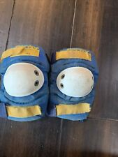 New listing RECTOR Ultimate Protection Vintage 70's Blue Skateboarding Size Medium Knee Pads