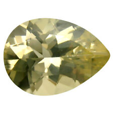 4.54 ct Best Pear Cut (14 x 10 mm) Un-Heated Yellow Andesine Loose Gemstone