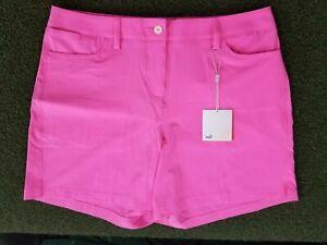 PUMA Golf Woman's + 10 + POLY + Pink Shorts + gw00471