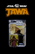 "Star Wars Black Series 40th Anniversary: JAWA A New Hope 6"" Vintage Movie Figure"