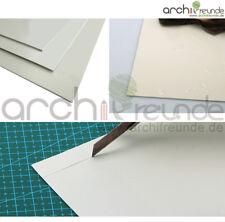 5 x Kunststoffplatten ABS 300 x 200 x 0,5 mm, GRAU