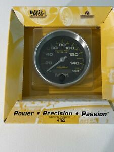 Autometer Electric Speedo 3 3/8 4789 160 Mph Carbon Fiber Ultra-lite