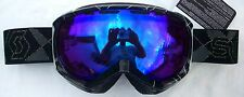 NEW $110 Scott Womens Reply Ladies RARE Black Ski Goggles Snow Roxy Smith White