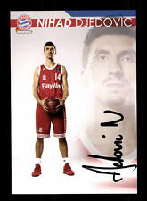 Nihad Djedovic Autogrammkarte Bayern München Original Sig Basketball+A 164034