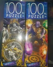 2 Gauntlet Thanos Villians Two Infinity War 100 Piece Puzzles Marvel Avengers