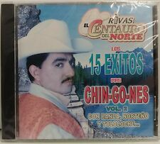 RIVAS EL CENTAURO DEL NORTE - LOS 15 EXITOS MAS CHINGONES 2 (2007 BRAND NEW CD)