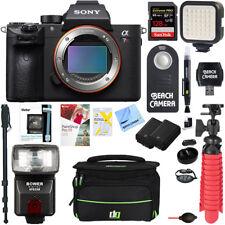 Sony a7R III Mirrorless Digital Camera Body(ILCE7RM3/B)+128GB Mem.& Flash Bundle