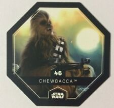 STAR WARS Jeton 46 CHEWBACCA Cosmic Shells E.Leclerc Collector Image