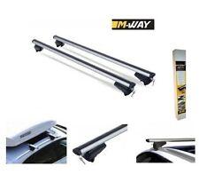 M-Way Roof Bars Kia Sportage 3rd Gen 2010-2015 5 Door Closed Rail Aluminium Aero