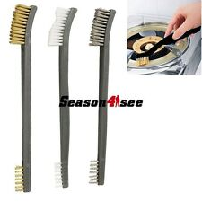 3pcs Gun Rifle Cleaning Brush Tool Set Brass Double Ended Wire Brush Kit Pro
