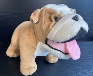 Mini Cooper BMW Dog Bulldog Soft Toy Plush Stuffed Animal Promotional Official
