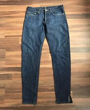 APC France New Standard Jeans Sz 31 Tapered Dark Wash