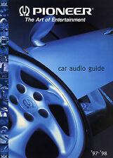 Pioneer Katalog Prospekt Car Audio Guide 97/98 DEH-P835R CDX-P5000 MCD4600RDS