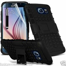 Shockproof Heavy Duty Protection Hard Dual Layer Phone Case+Kick Stand✔Samsung