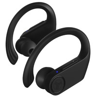 Treblab X3 Pro -True Wireless Earbuds with Earhooks-45H Battery Life,Bluetooth 5