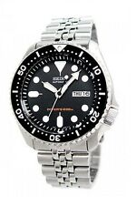 SEIKO SKX007K2 Submariner Automatic Scuba Diver's Men Stainless Steel Watch