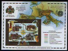 SAN MARINO 2000 foglietto Giubileo del 2000 -  nuovo **
