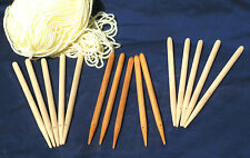 Hardwood Weaving sticks, a set of 5  - Educational / schools / reenactor's pack
