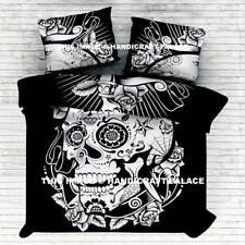 Black & White Indian Mandala Duvet Doona Cover Bedding Blanket Queen Quilt Cover