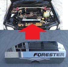 Pour Subaru Forester Sf 1999-2002 Acier Inoxydable Moteur Housse Panneau