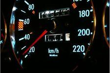 MERCEDES BENZ W124, W126, (W201) 190 glow gauge dials illuminazione tacho plasma