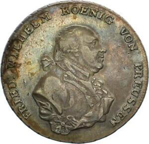 Brandenburg-Preußen Friedrich Wilhelm II. Taler 1794 A (Berlin) Wilde Männer