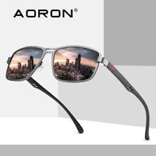 Metal frame POLARISED Men Women Driving Sunglasses Glasses Black UV400 Eyewear