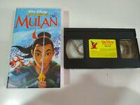 MULAN - LOS CLASICOS DE WALT DISNEY - VHS CINTA TAPE Español