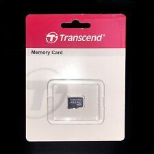 BRAND-NEW 100% Original Transcend 4GB Class6 microSDHC Memory Card w/warranty