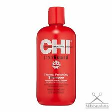 (€ 3,91/100 ml) Chi Farouk fer Guard 44 thermal protecting soie Shampoing 355ml