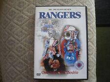 RANGERS DVD - ONE ECK OF A DOUBLE 2001/2 SEASON REVIEW 2DVD