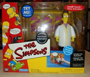 The Simpsons Interactive Environment Church of Springfield Reverend Lovejoy (6A)