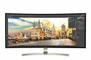 "LG 38 Inch Monitor 21:9 UltraWide WQHD + IPS Curved LED 38"" Monitor 38UC99W"