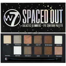 W7 Spaced Out Palette - Glittery Sparkle Eyeshadow Eyes Colours Spacey Smokey