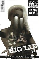 Nancy Drew And The Hardy Boys Comic Issue 1 Big Lie Modern Age First Print 2017